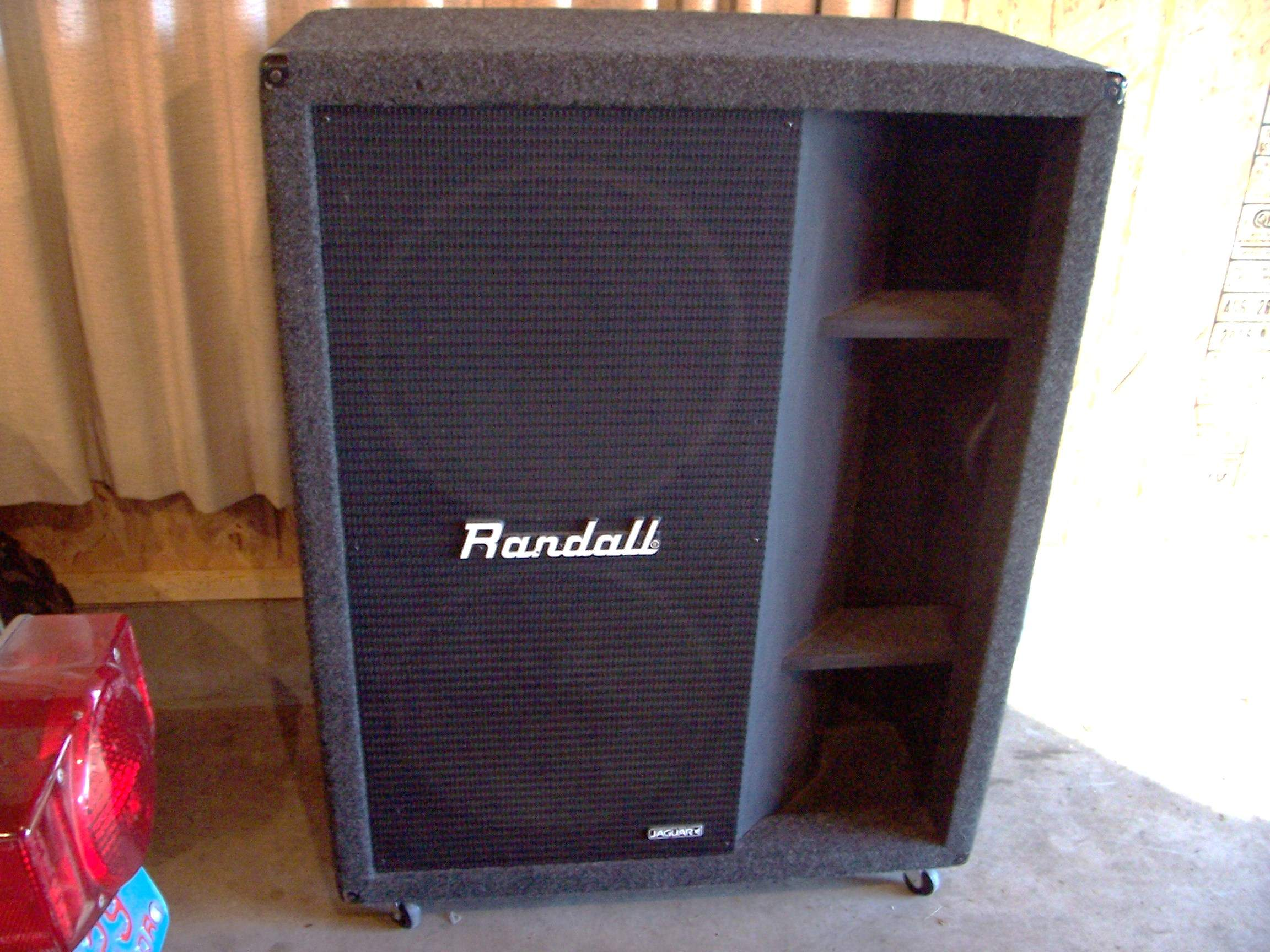 For Sale - Randall R215BH 2x15 Bass Cabinet | TalkBass com