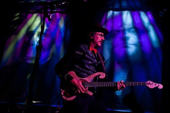 Les claypool s pachyderm bass that he used on tour is
