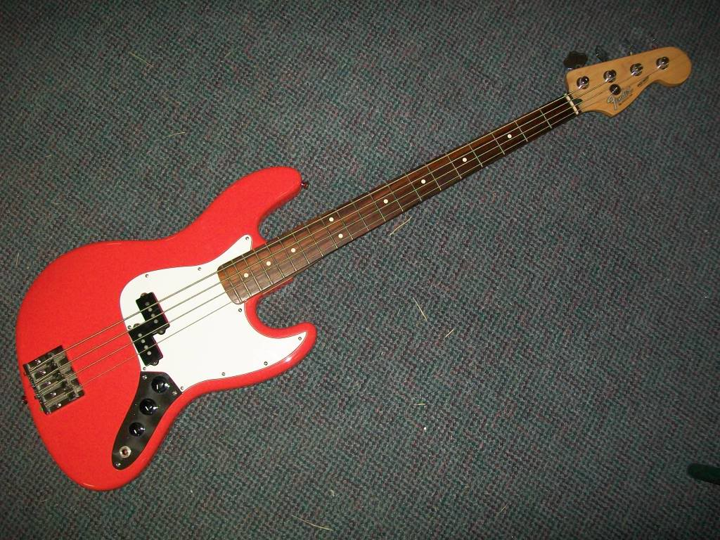 Fender Jazz Bass With Precision Pickups