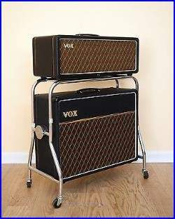 1963_Vox_AC30_Vintage_Tube_Amp_Copper_Top_JMI_with_Cab_Celestion_Blues_Trolley_01_wza.
