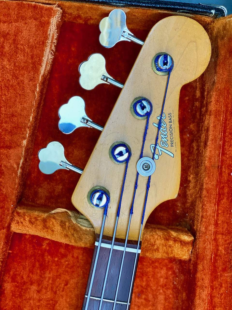 1965 Fender Precision Candy Apple Red - 20.jpeg
