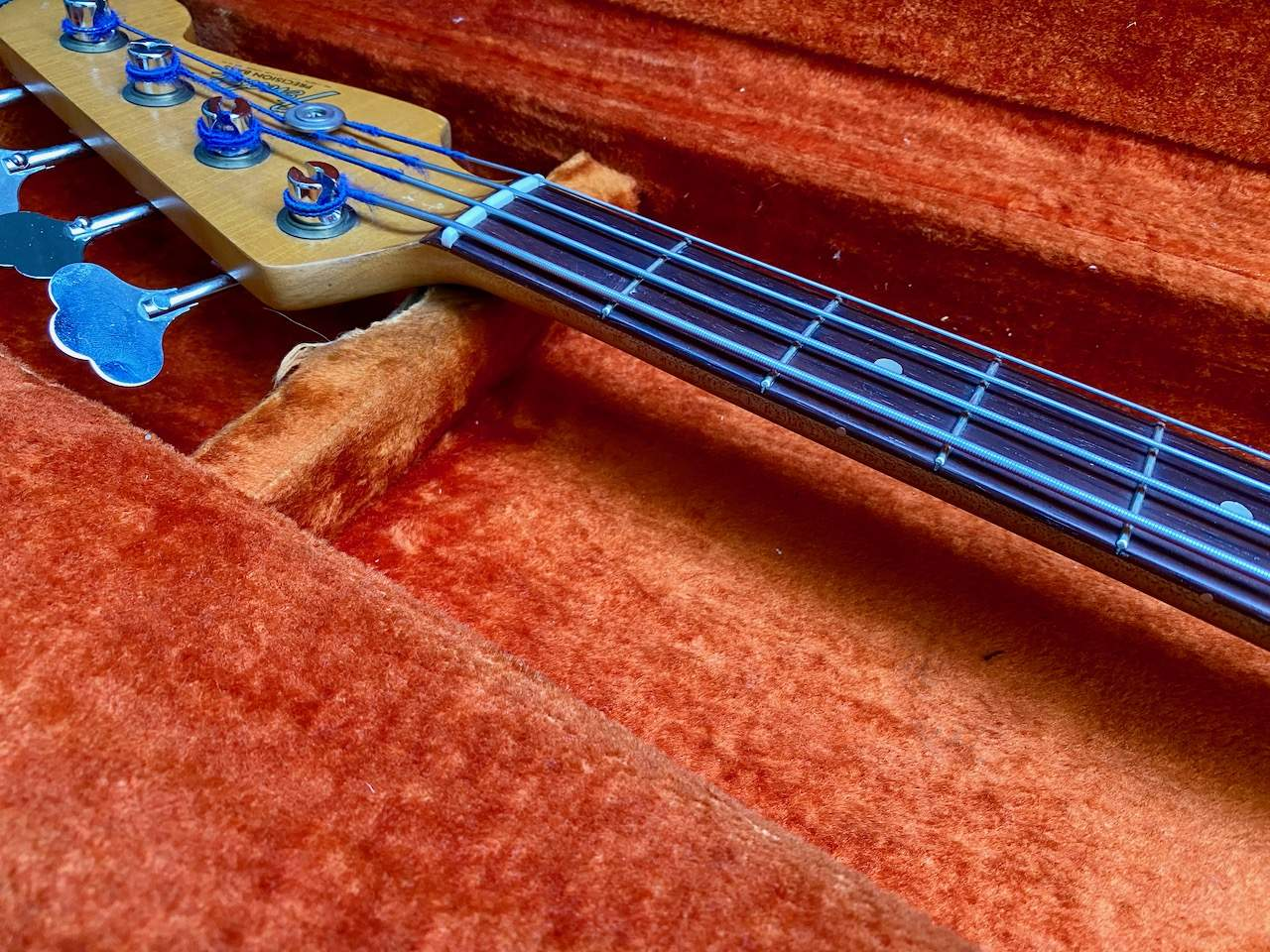 1965 Fender Precision Candy Apple Red - 25.jpeg