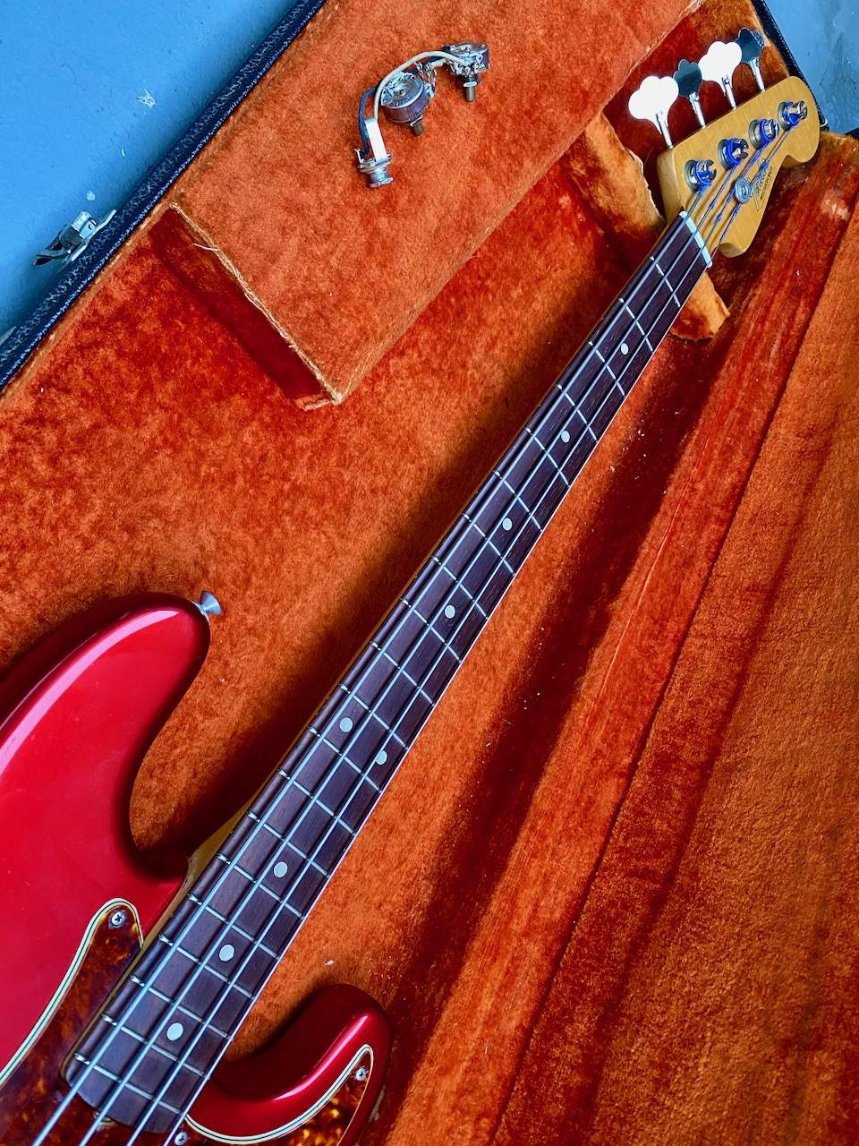 1965 Fender Precision Candy Apple Red - 26.jpeg
