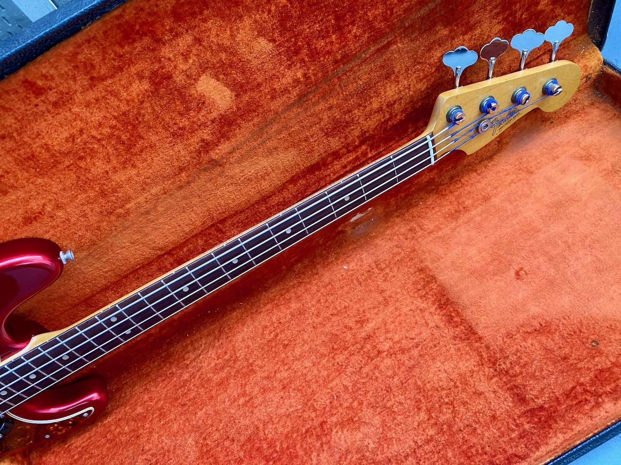 1965 Fender Precision Candy Apple Red - 31.jpeg