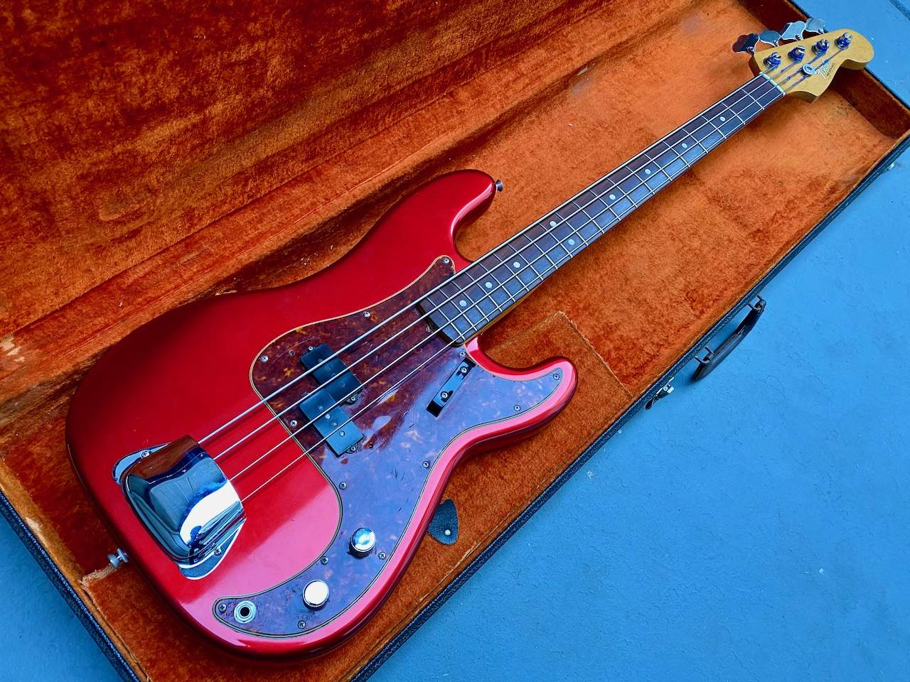 1965 Fender Precision Candy Apple Red - 42.jpeg