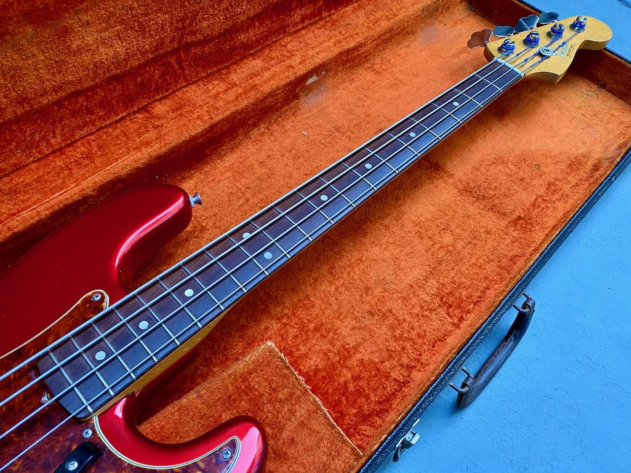 1965 Fender Precision Candy Apple Red - 44.jpeg