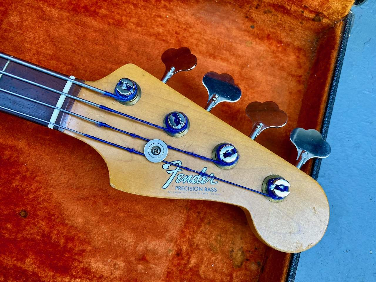 1965 Fender Precision Candy Apple Red - 46.jpeg