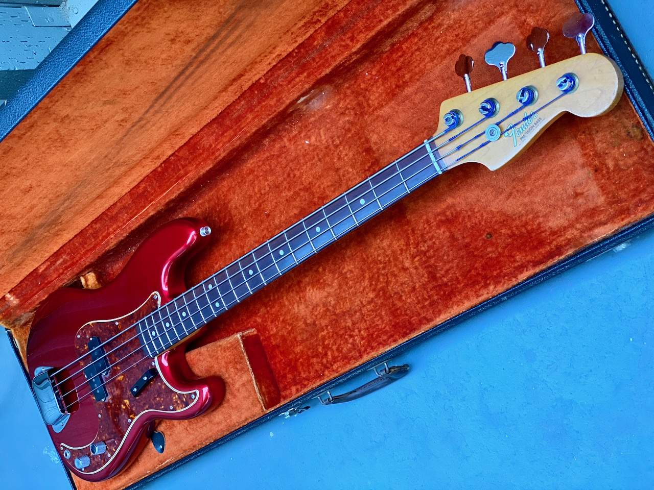 1965 Fender Precision Candy Apple Red - 47.jpeg