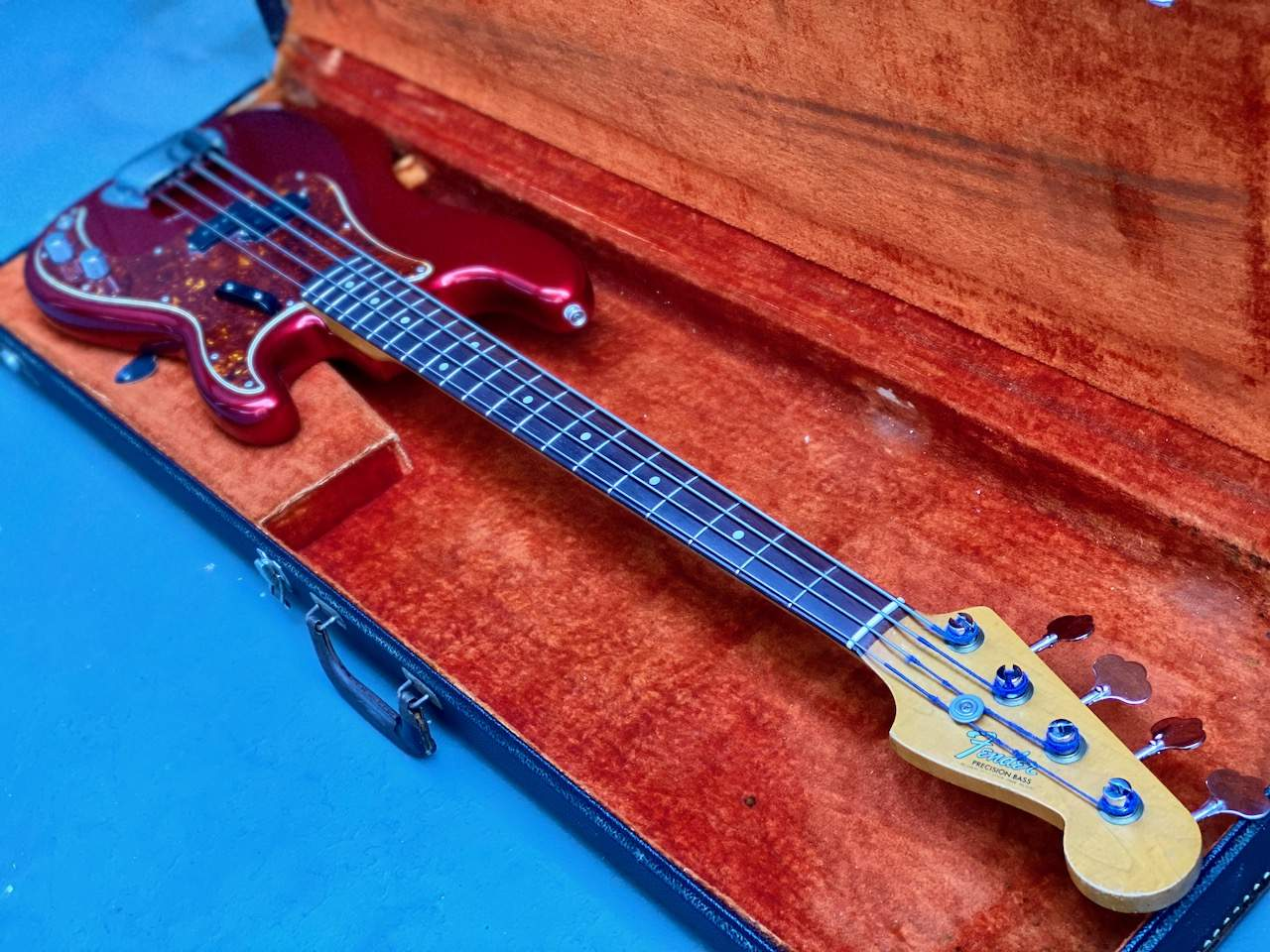 1965 Fender Precision Candy Apple Red - 48.jpeg