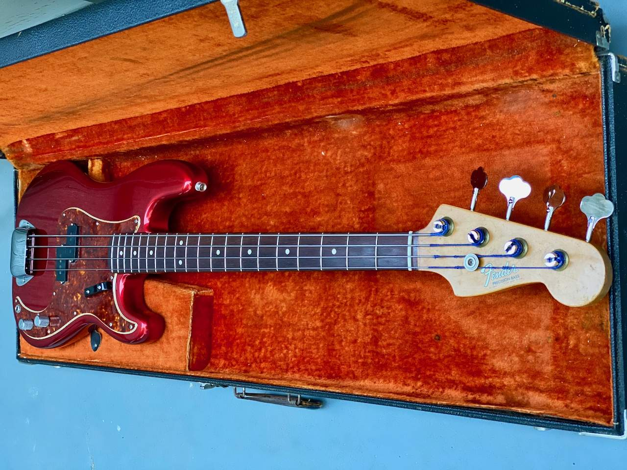 1965 Fender Precision Candy Apple Red - 49.jpeg