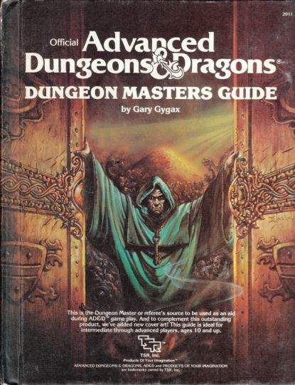 1983 AD&D 1st edition DM guide.