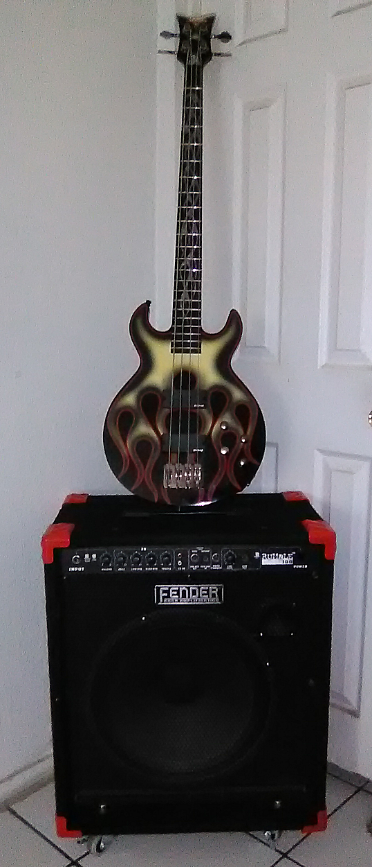 2004 Schecter Ghost Flame & Fender Rumble 100w 1x15.png