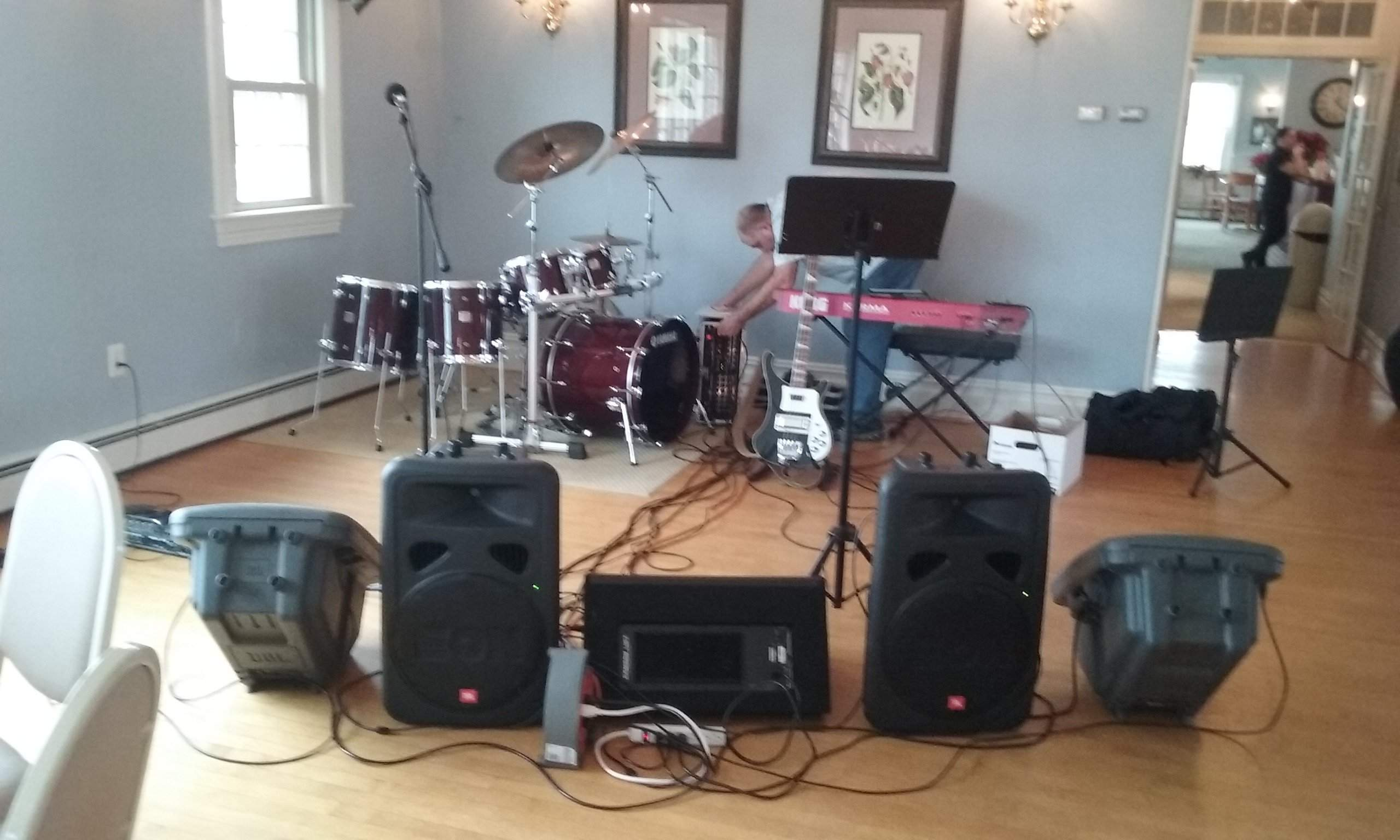 Dbase w/ The Lazy Eyed Blues Band @ Westwood Golf Club 12/18/15(w