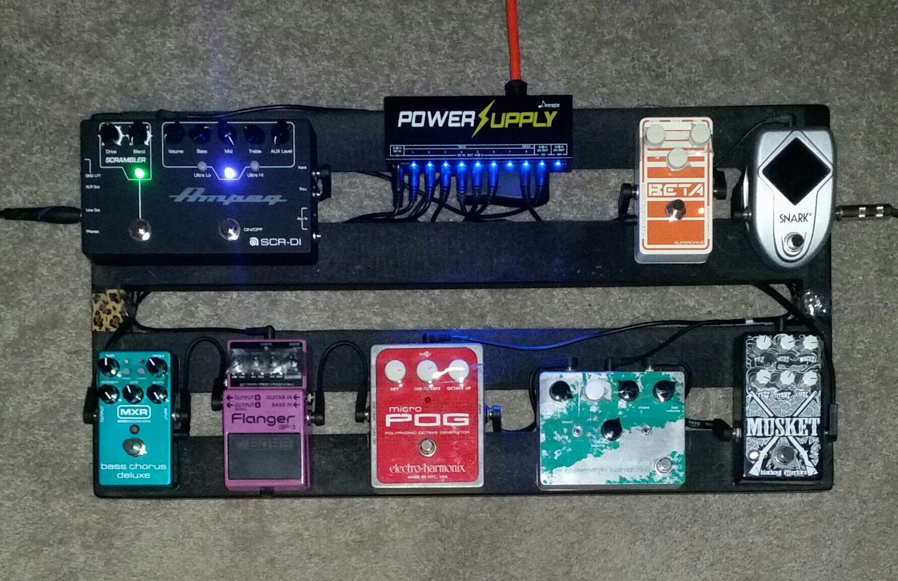 Help  Thinking of getting a Donner pedal effects power