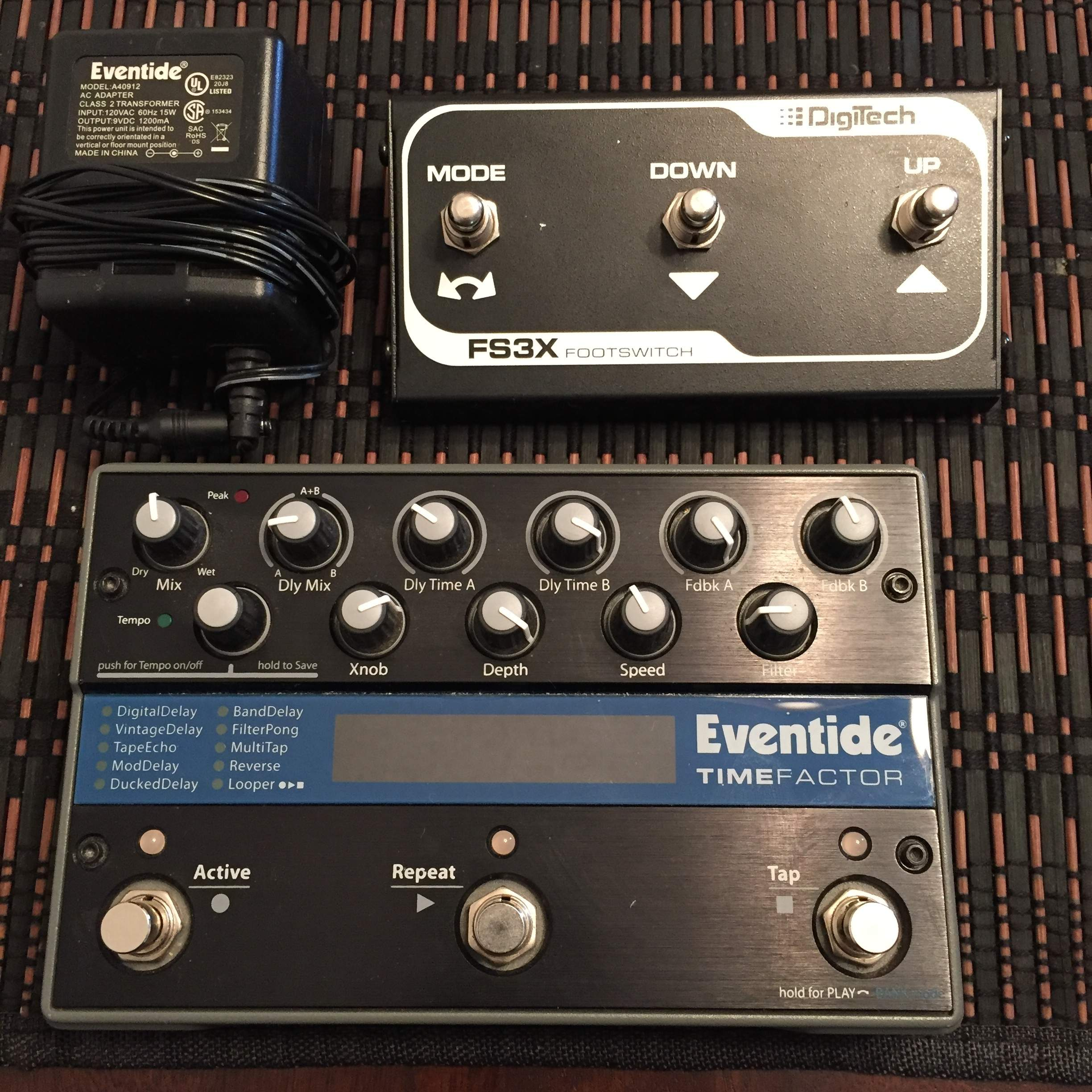 sold eventide timefactor with extra switch pedal and power supply rh talkbass com eventide timefactor manuel francais eventide timefactor presets download