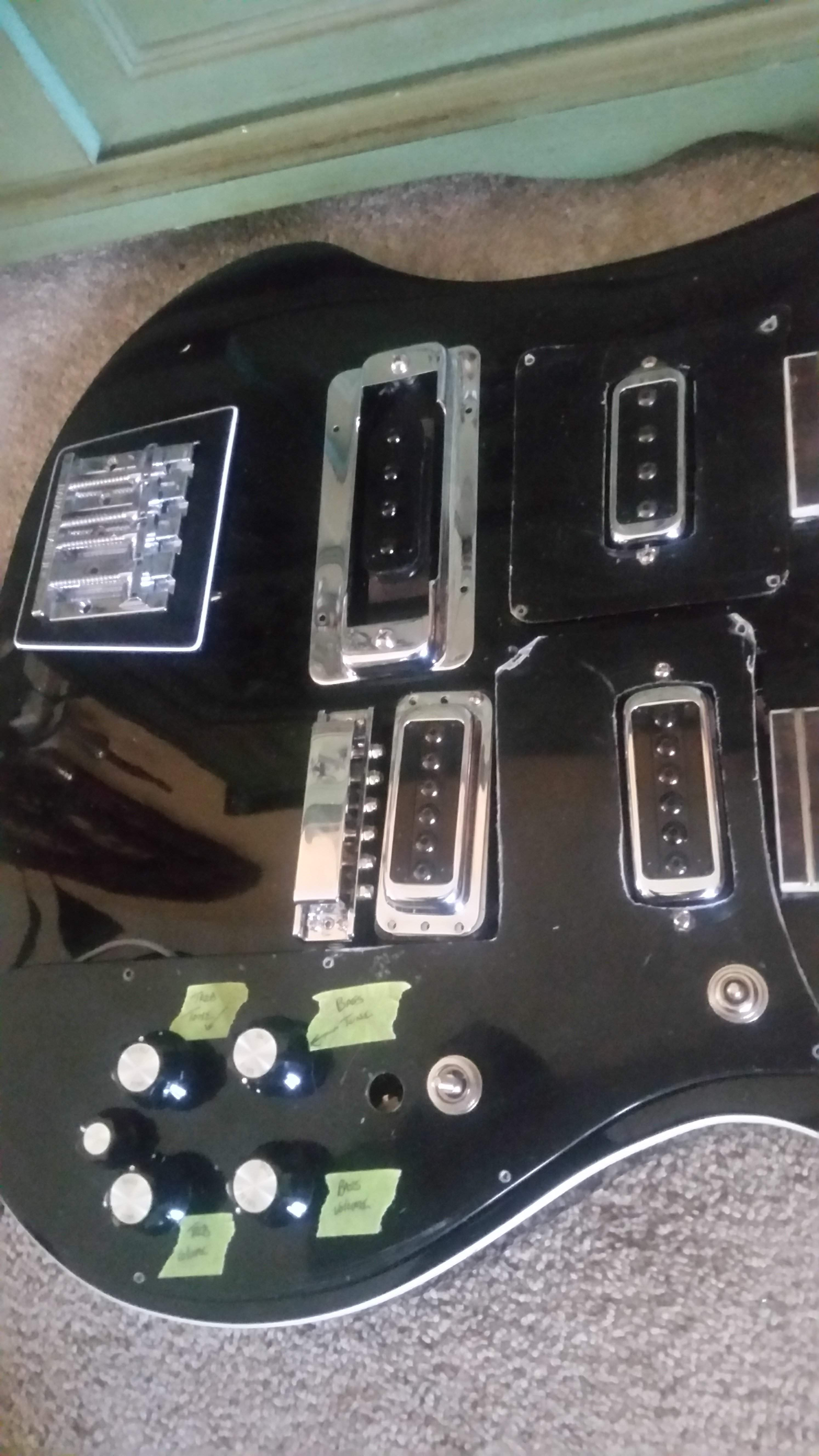 Thread Doubleneck Telecaster Wiring Need Help - Wiring ... on double bass diagram, guitar neck diagram, double pole double throw switch diagram, double neck dimensions, double switch wiring diagram, double humbucker wiring-diagram, double switch wiring pigtailing wires,