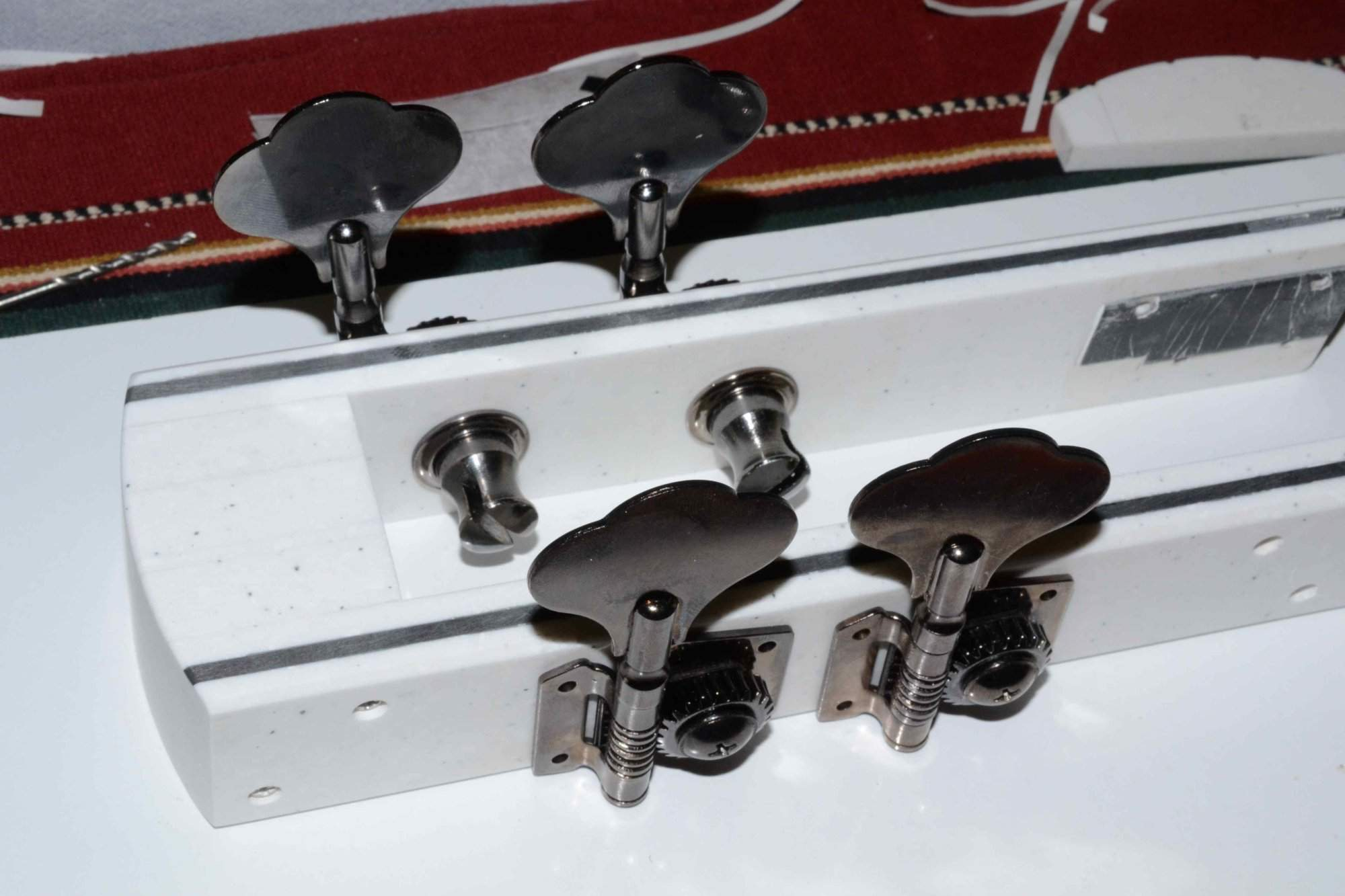 4 Chinese tuners before gears stripped.