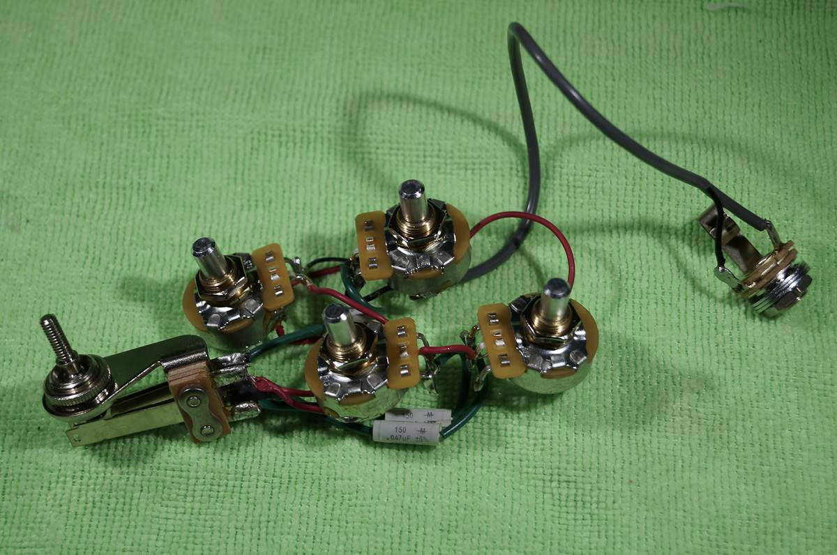 rickenbacker 4001 or 4003 wiring harness talkbass com