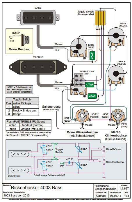 Rickenbacker Wiring Diagrams Wiring Diagram Data Today