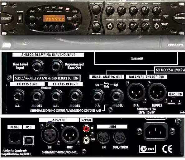 LINE6 BASS POD XT PRO RACK MOUNT BASS EFFECTS  | TalkBass com