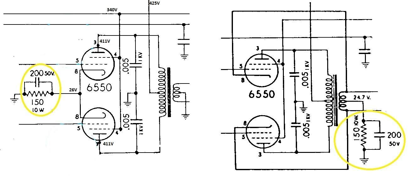 Two different methods of wiring output - 6550 pair | Page 6