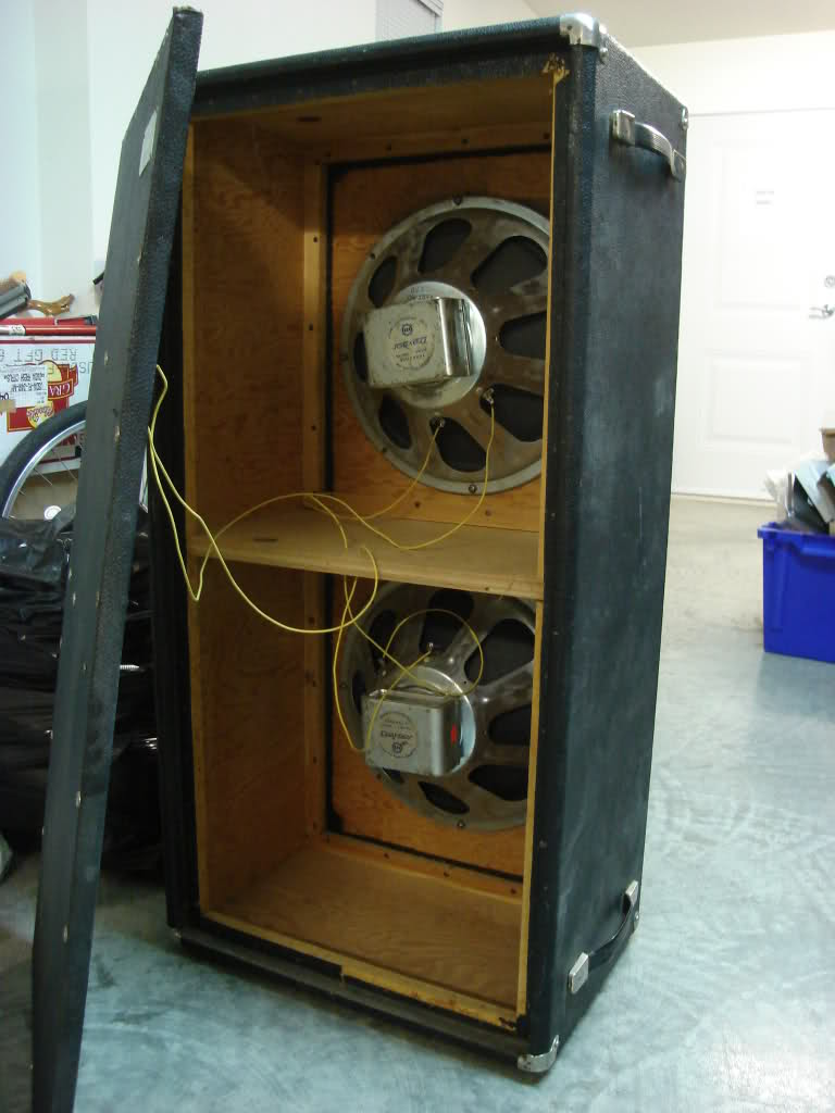Help me - need new speaker(s) and possibly cab mods - porting ...