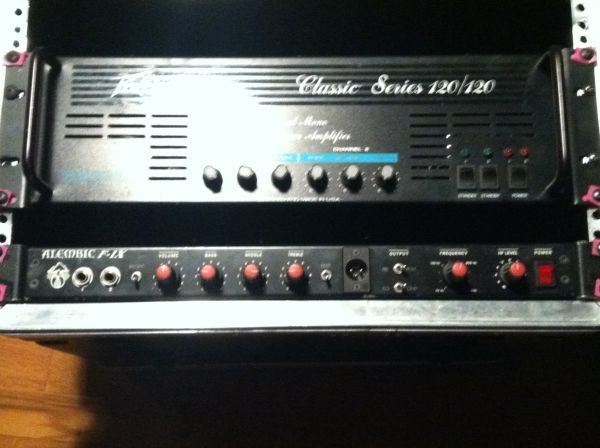 Sold Alembic F 1x Tube Bass Preamp Talkbasscom