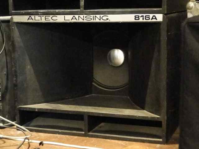 Need specs to build a cab around Altec Lansing 421A    Can you help