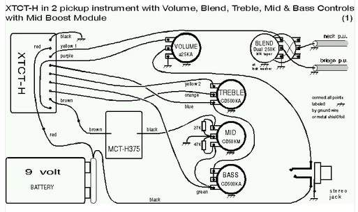 Bartolini Jazz Bass Wiring Diagram : J bass passive wiring diagram electrical circuit