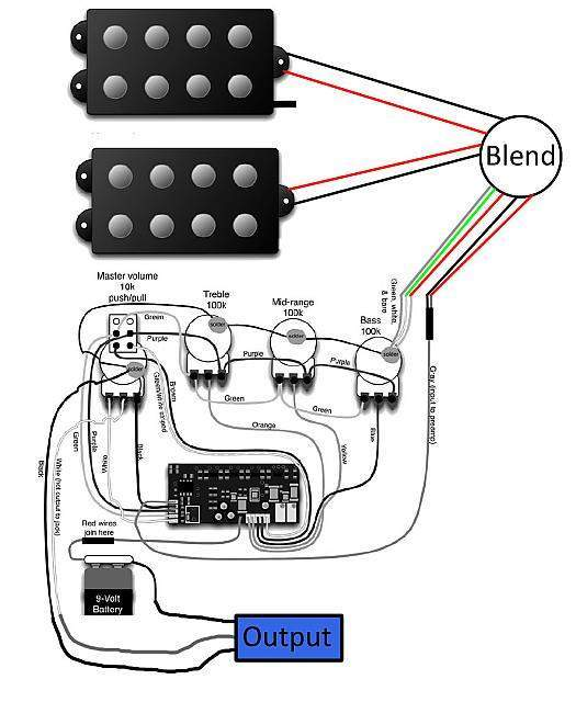 Yamaha Guitar Pickup Wiring Diagrams bull Wiring Diagram For Free