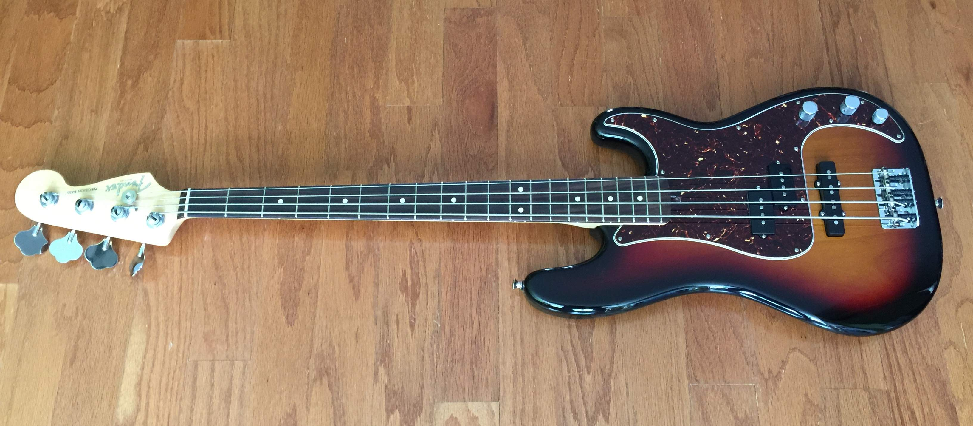 no longer available fender limited edition american 4 string p j bass magnificent 7 price drop. Black Bedroom Furniture Sets. Home Design Ideas