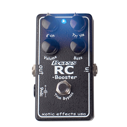 SOLD - XOTIC RC BASS BOOSTER | TalkBass com