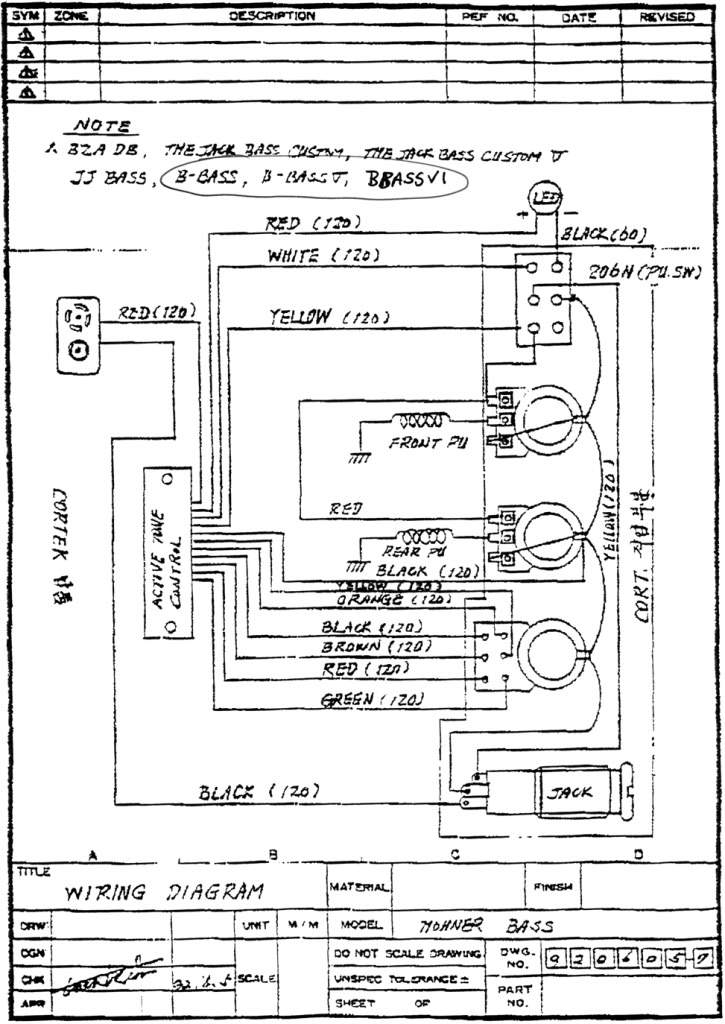 active passive switch wiring diagram talkbass