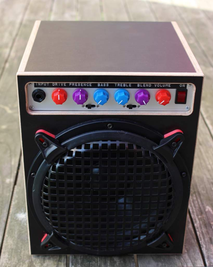 Diy Class D Practice Amp And 8 Quot Cabinet Talkbass Com