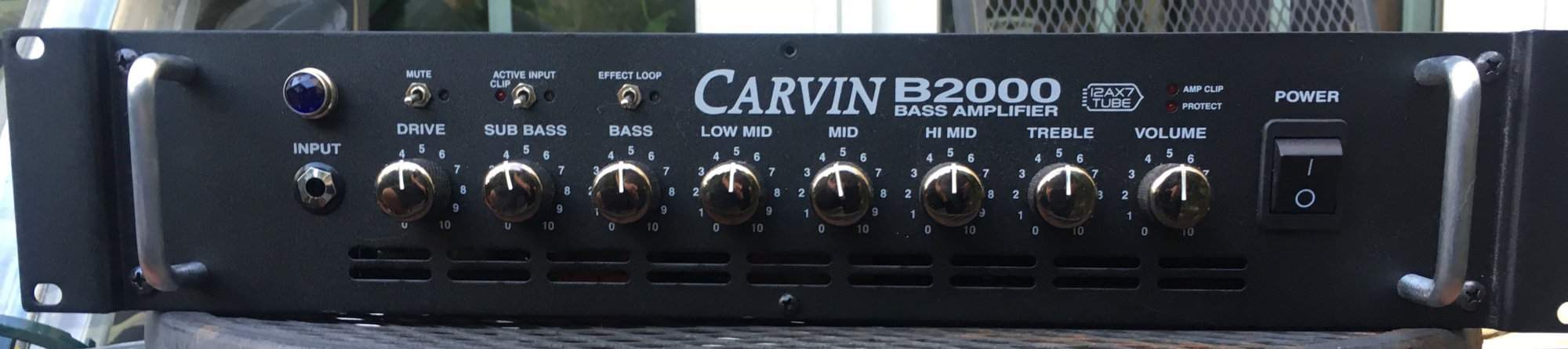 Carvin Amp front.