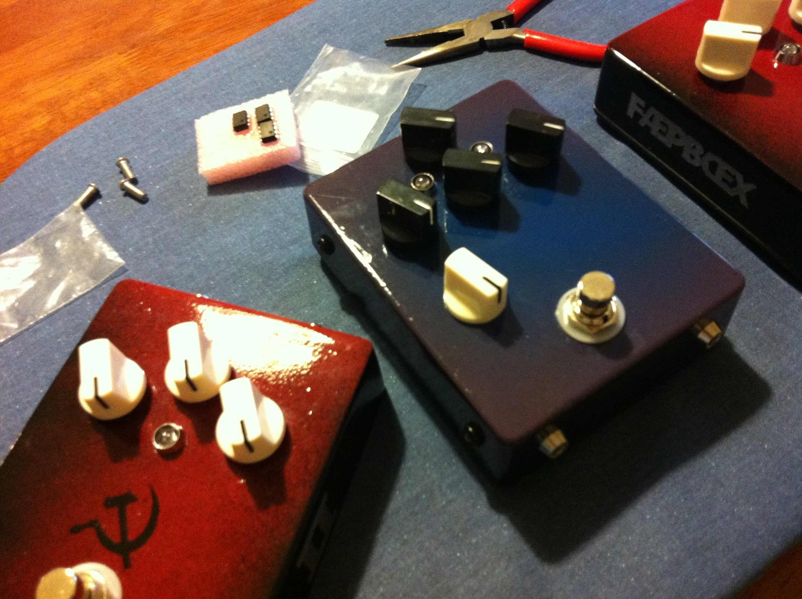 DIY Stingray 3EQ Preamp | Page 3 | TalkBass com