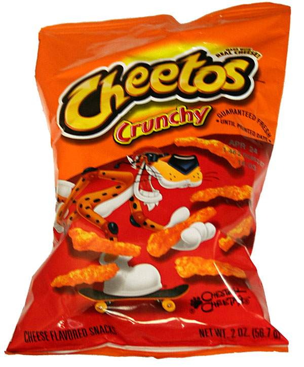 Debate Cheetos Are Bad For You: A Bag Of Cheetos