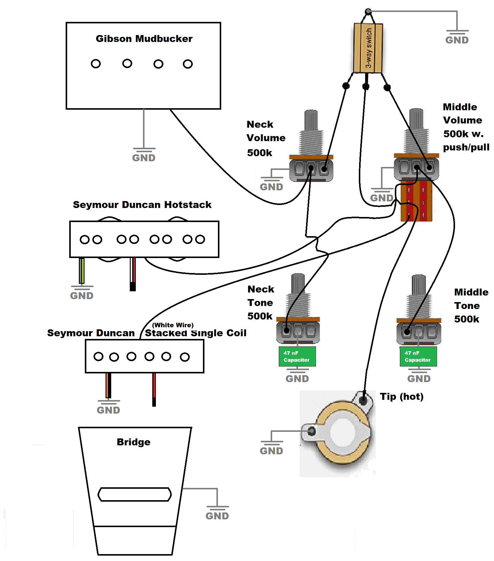 Rickenbacker Guitar Wiring Diagram Wiring Diagram Schematics