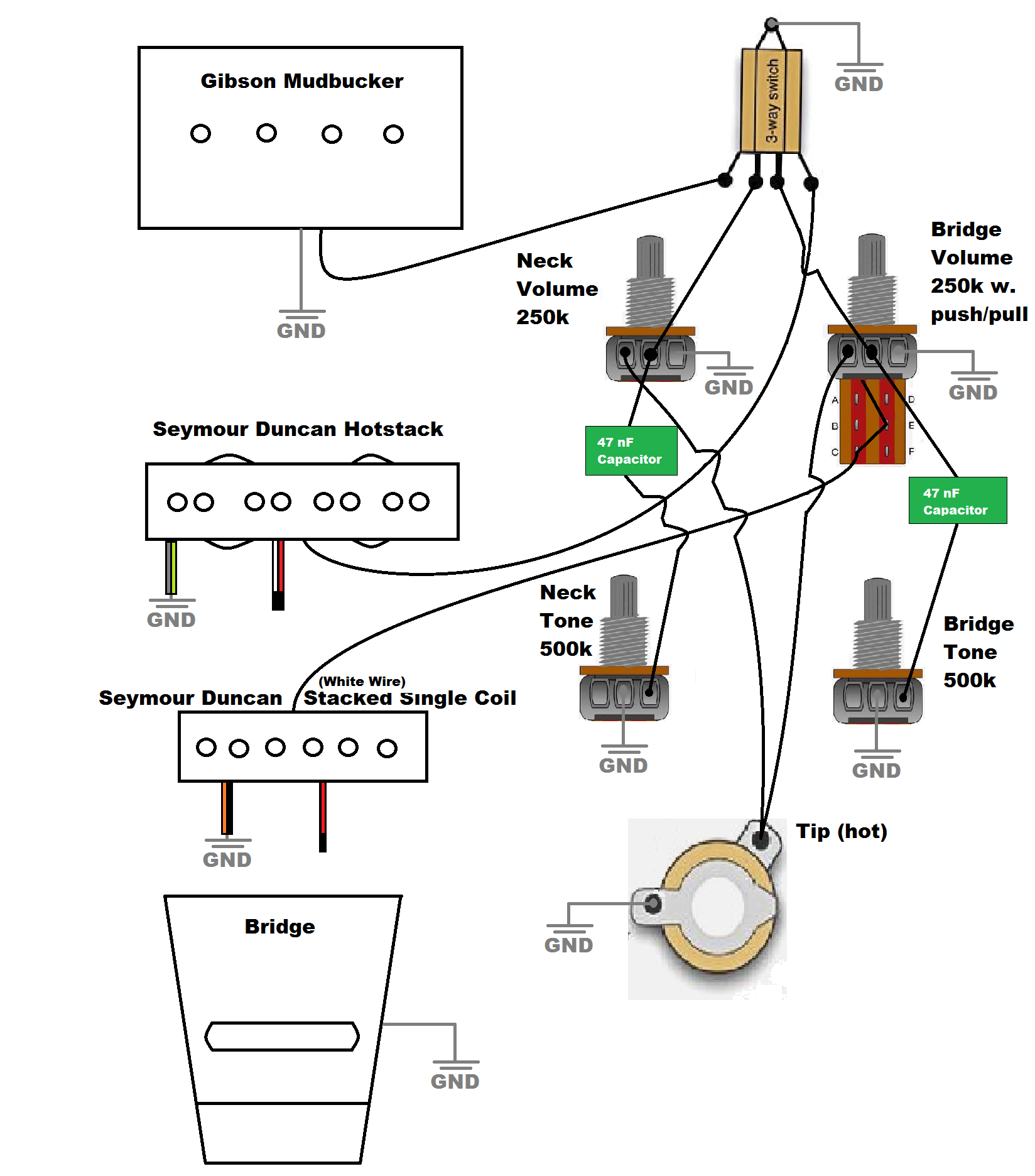 Rickenbacker Amp Schematic | Wiring Diagram