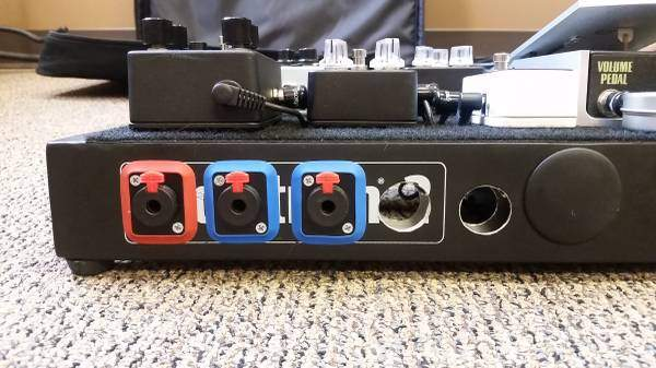 pedalboard patchbay diy