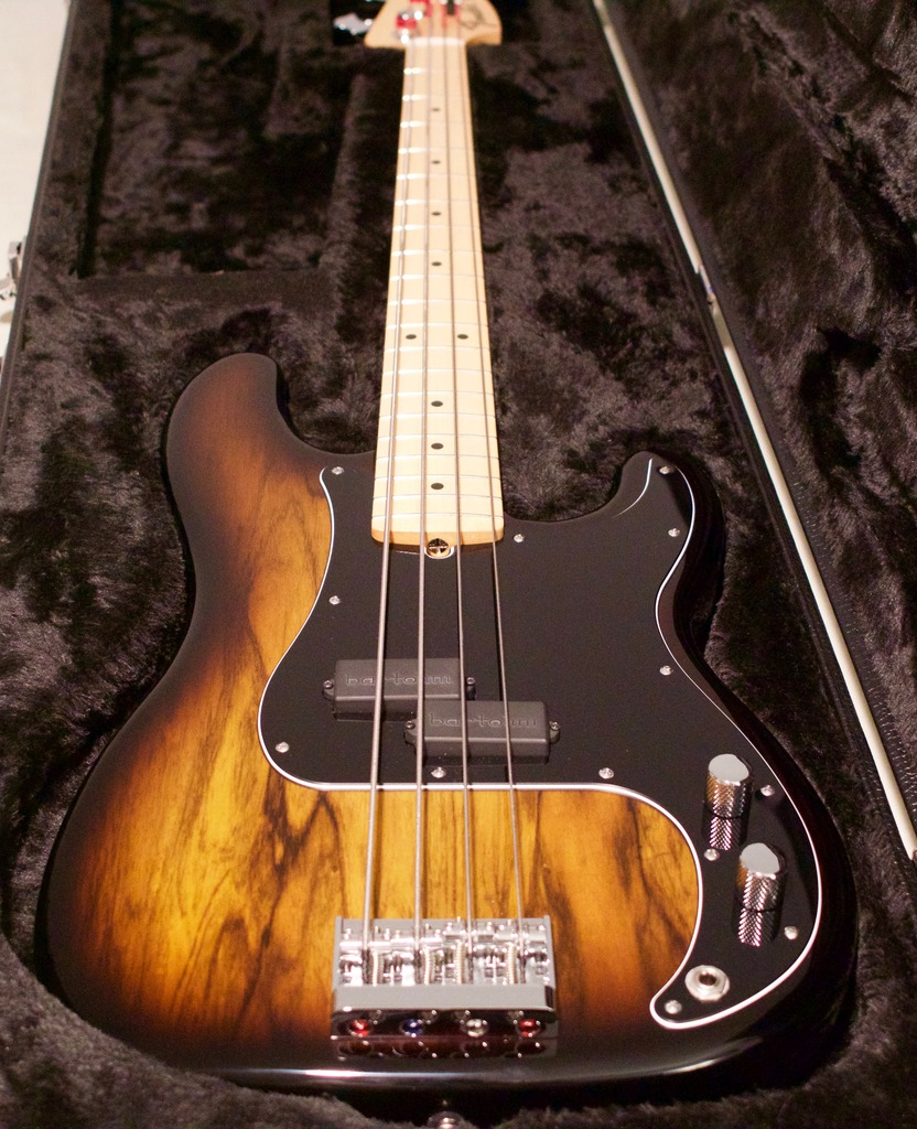 SOLD - Custom Fender/Warmoth Precision Bass | TalkBass com