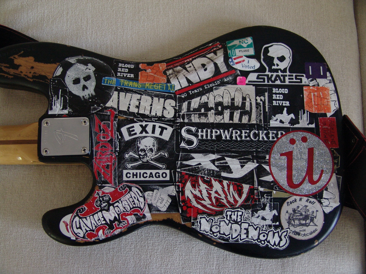 Image result for stickered bass