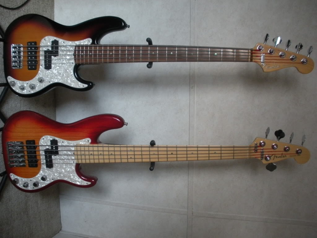 fender american deluxe p bass 5 string eyecandy. Black Bedroom Furniture Sets. Home Design Ideas