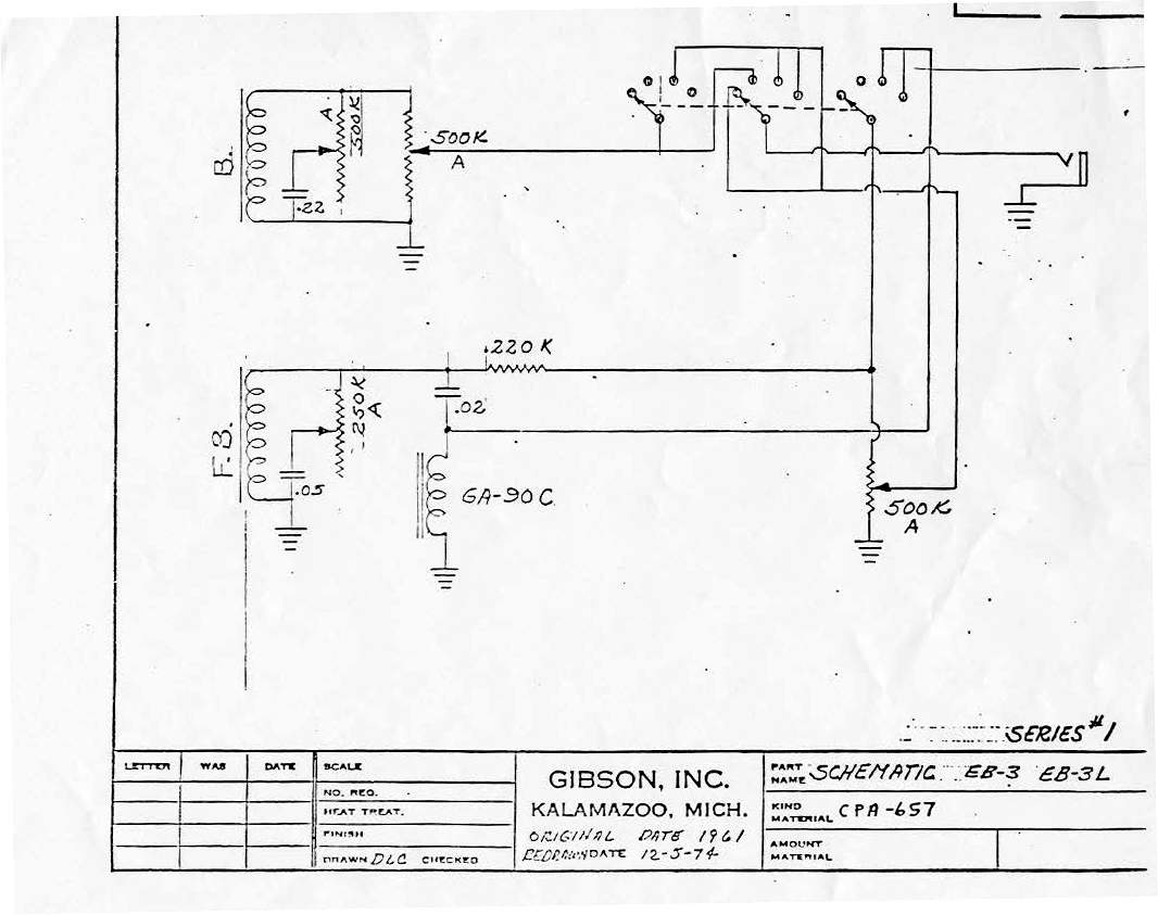 Gibson Marauder Wiring Diagram Free Download Diagrams Charming Varitone Pictures Inspiration Need Help An Eb 3 Type Setup Talkbass Com At Pickguard