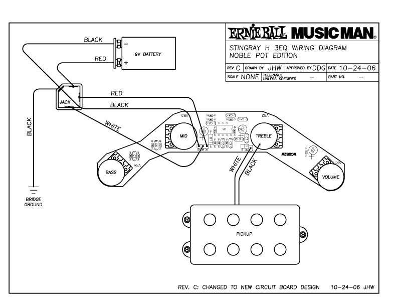 Musicman Stingray H3EQ Nobel pot edition wiring diagram | TalkBass.com | Musicman Wiring Diagrams |  | TalkBass.com