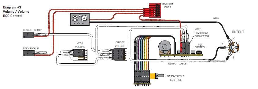 Emg Bas Pickup Wiring Diagram
