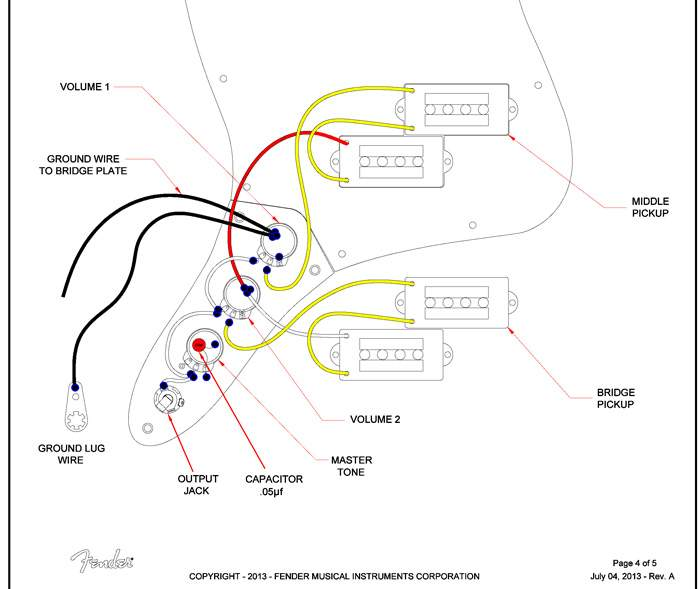 fender blacktop jazz bass wiring diagram  jazzmaster