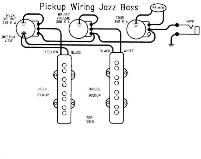 Fender Geddy Lee Jazz Bass Wiring Question | TalkBass.com