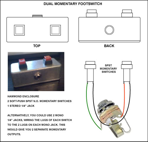 help wiring footswitch with led harmony central blog wiring diagrams Peavey Footswitch Wiring