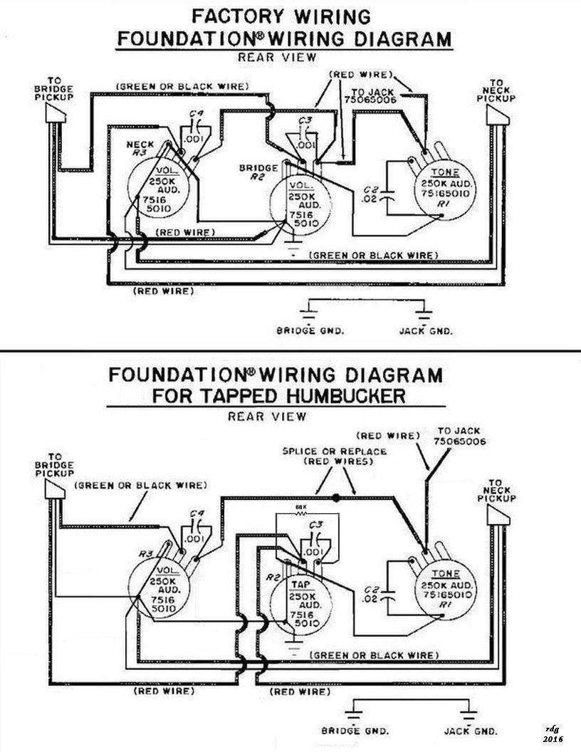 Peavey Foundation 5 string b wiring diagram/schematic ... on